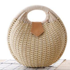 Handbags - Rattan Snails Nest Handbag